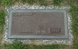 Martha Easter <i>Decker</i> Daffron
