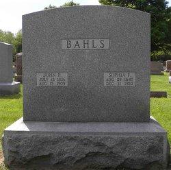Sophia F. <i>Hagerman</i> Bahls