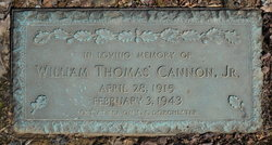 Pvt William Thomas Cannon, Jr