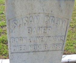 Susannah Susan <i>Crum</i> Baker