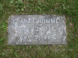 Clara N <i>Fischer</i> Hummel