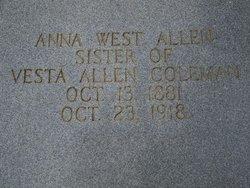 Anna West Allen