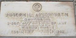 Joseph Lincoln Ainsworth