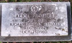 Alice <i>Profilet</i> Abbott