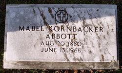 Mabel <i>Kornbacher</i> Abbott