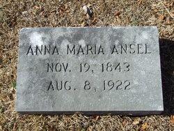 Anna Maria Ansel