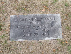 Cecile Shirley Ansel