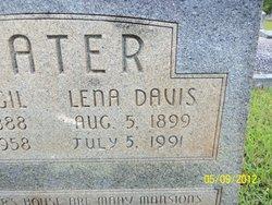 Lena Estelle <i>Davis</i> Baxter