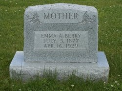 Emma A <i>Green</i> Berry