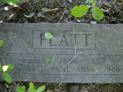 Elizabeth Jane Lizzie <i>Collins</i> Flatt