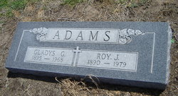 Gladys Goldie <i>McCarty</i> Adams