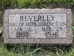 Beverley Cain