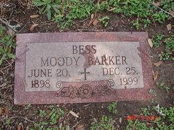 Bessie Bess <i>Moody</i> Barker