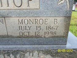 Monroe B Bishop