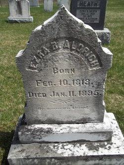 Ezra B Aldrich