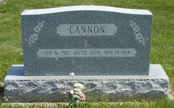 Ruth Ann Cannon