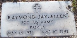 Sgt Raymond Jay Allen