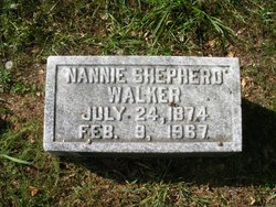Nannie <i>Shepherd</i> Walker