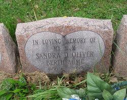 Sandra D. <i>Oliver</i> Berthiaume
