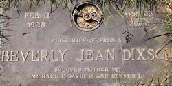 Beverly Jean Dixson