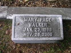 Mary Page Walker
