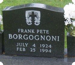 Frank Pete Borgognoni