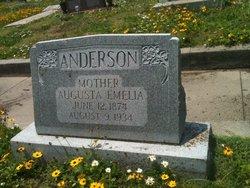Augusta Emelia <i>Johnson</i> Anderson