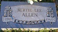 Bertha Lee Bertie <i>Mize</i> Allen