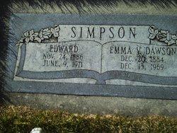 Emma Victoria <i>Dawson</i> Simpson