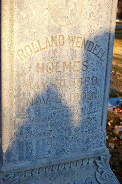 Rolland Wendell Holmes