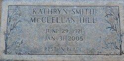 Kathryn Smith McClellan Hill