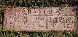 Nona Bell <i>Chisum</i> Baker