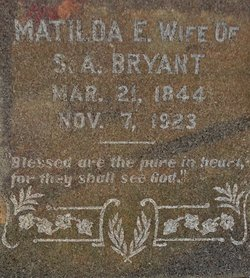 Matilda Emaline Tipper <i>Prestridge</i> Bryant