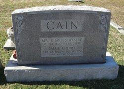 Rev Charles Wesley Cain