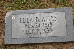 Lula B. <i>Bratcher</i> Allen
