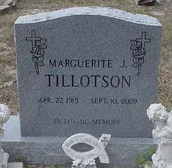 Marguerite J Tillotson