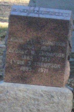 Lydia S Thompson