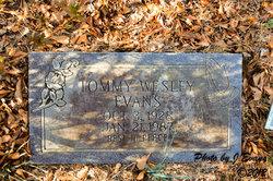 Tommy Wesley Evans