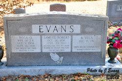 Rosa O <i>Simmons</i> Evans