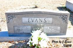 Thelma L Evans