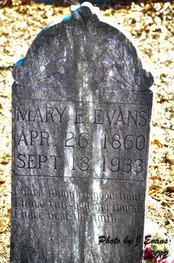 Mary Elizabeth Evans