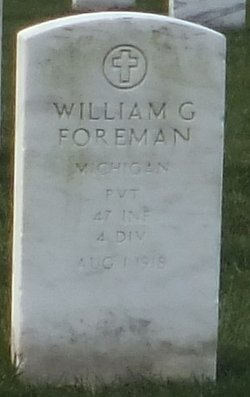 Pvt William G Foreman