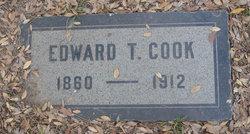Edward Thayer Cook, I