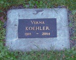 Verna Lauretta <i>Colburn</i> Koehler