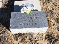 Mary Dell <i>Sharp</i> Crosthwait