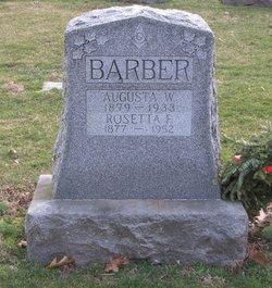 Augusta W. Barber
