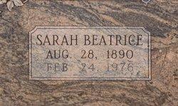 Sarah Beatrice <i>Deskin</i> Tramel