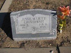 Jesse Margareta Jett <i>Groves</i> Crosthwait