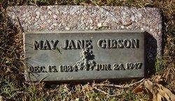 Mae Jane <i>Shupe</i> Gibson