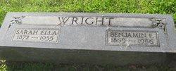 Benjamin F Wright